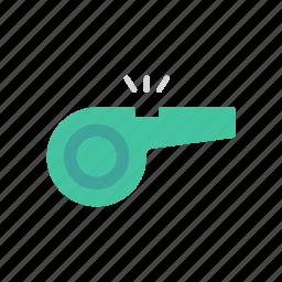 alert, notify, ring, whistle icon