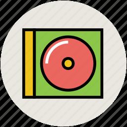 cd box, cd case, cd casing, cd cover, disk casing, multimedia icon