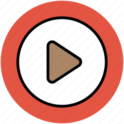 media, media play, media player, multimedia, video player icon