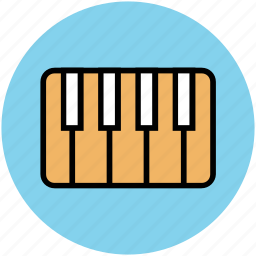 electric, electric piano, musical keyboard, piano keyboard, piano keys icon