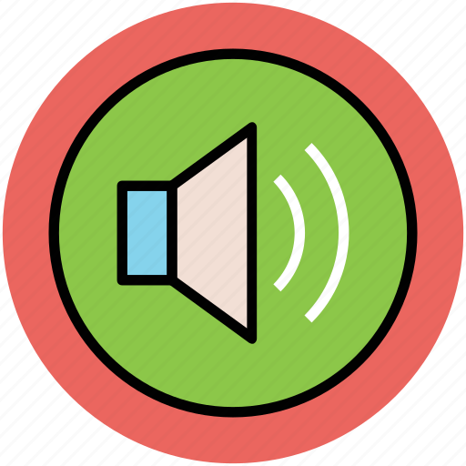 audio, loud, loudspeaker, sound, speaker, volume icon