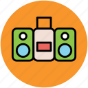 boombox, ghetto blaster, ghetto box, music player, stereo icon
