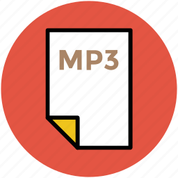 file format, mp3 file, music file, music format, musical icon