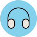 amplifier, dj, ear bud, ear speaker, earphone, headphone, headset, music icon