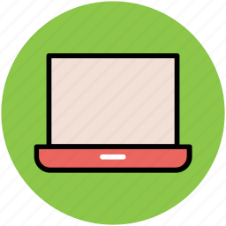 computer, laptop, micro computer, notebook, pc, personal computer icon