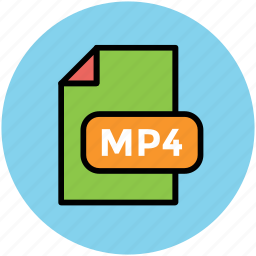 file format, mp4 file, music file, music format, musical icon