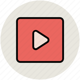 media, media play, media player, multimedia, music player, play button icon