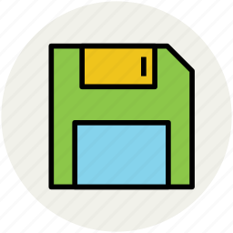 data disk, data storage, diskette, floppy, floppy drive, headphone icon