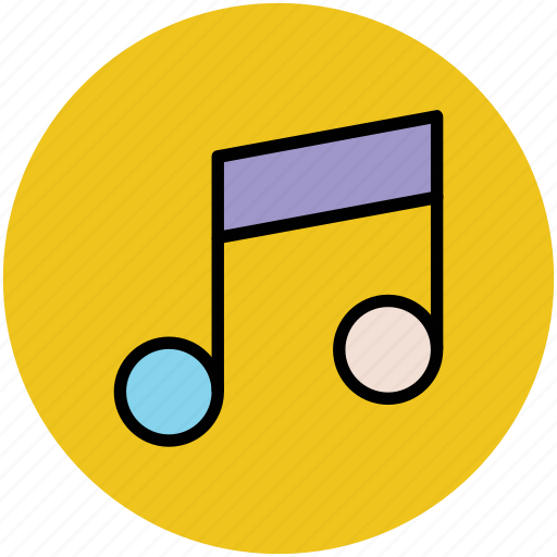 harmony, melody, music, musical note, musical sign, musical symbol icon