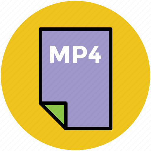 file format, mp4, music file, music format, musical icon