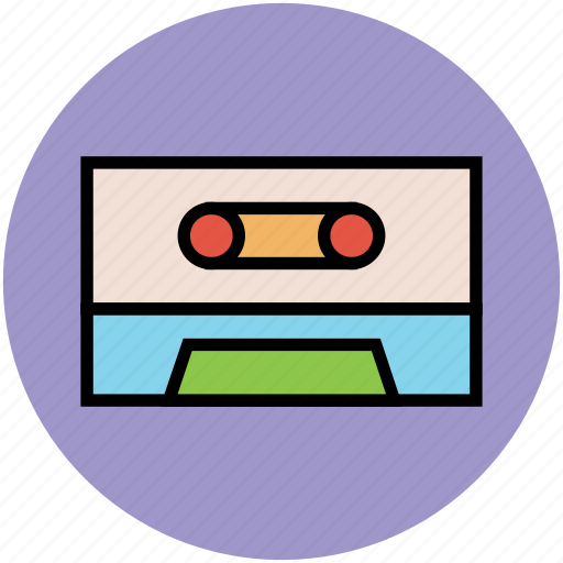 media, multimedia, vhs cassette, video cassette, video tape icon