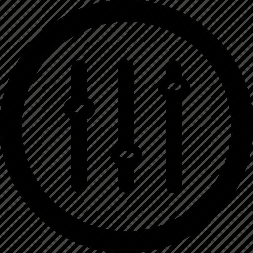 audio, equalizer, media, music, sound icon
