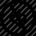 audio, media, music, mute, prohibit icon