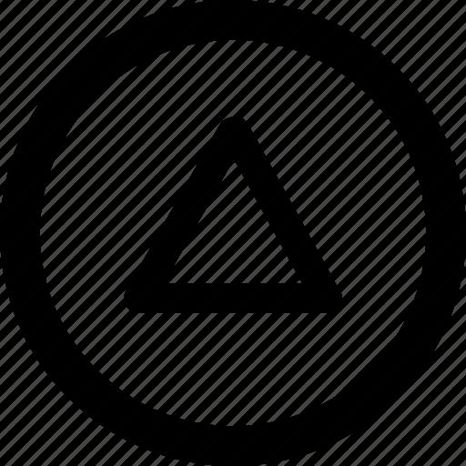 audio, control, media, music, up icon