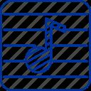 instrumen, music icon
