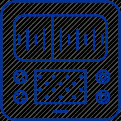device, music, radio icon