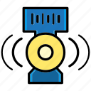 device, multimedia, music, relax, sound, speaker, wav icon