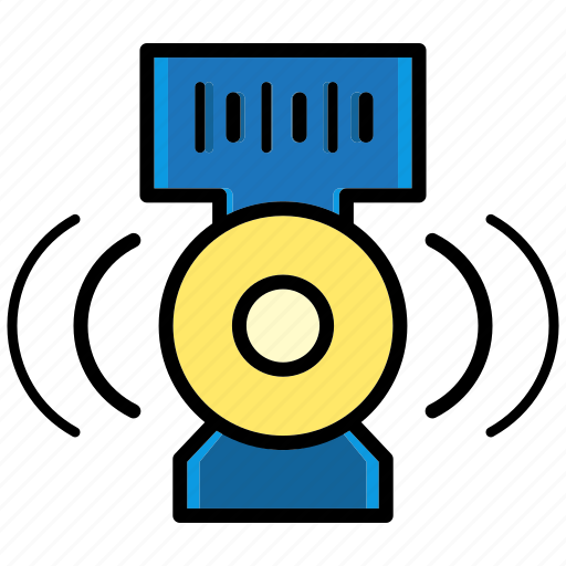 device, multimedia, music, relax, sound, speaker, wav icon