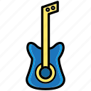 bass, device, guitar, multimedia, music, relax, sound icon