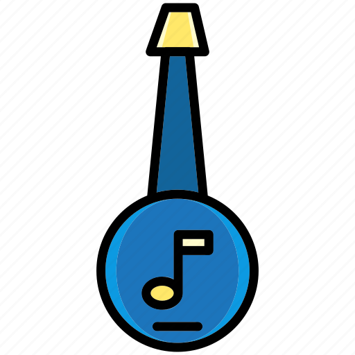 device, folk, guitar, instrument, multimedia, music, relax icon