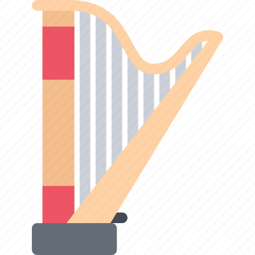 band, concert, harp, instrument, music, style icon