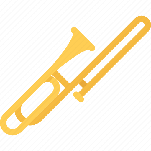 band, concert, instrument, music, style, trombone icon