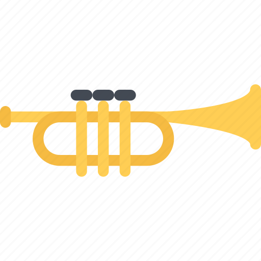 band, concert, instrument, music, style, trumpet icon