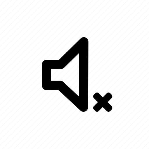 audio, media, music, mute, sound icon