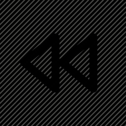 audio, media, music, previous, sound icon