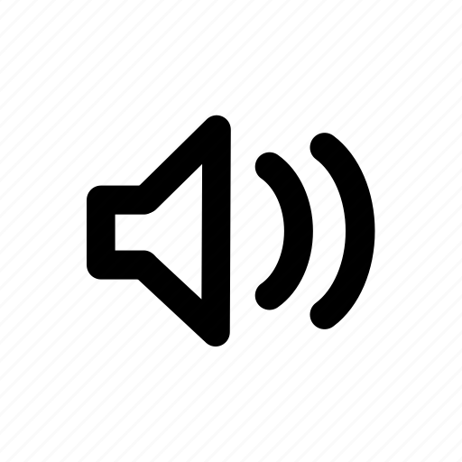 audio, high, media, music, volume icon