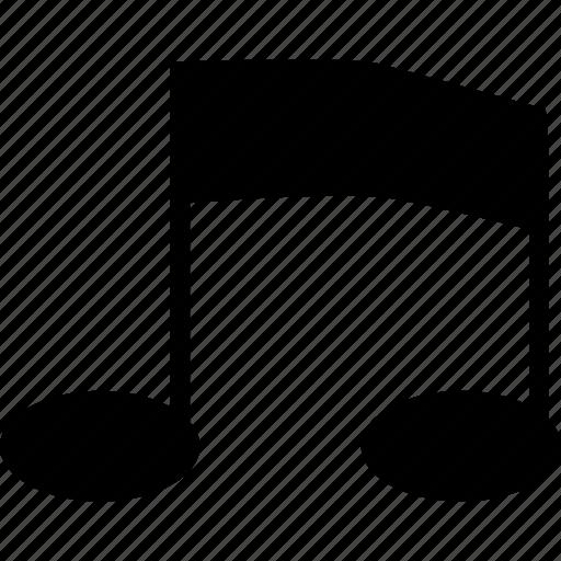 music, not, sheet icon