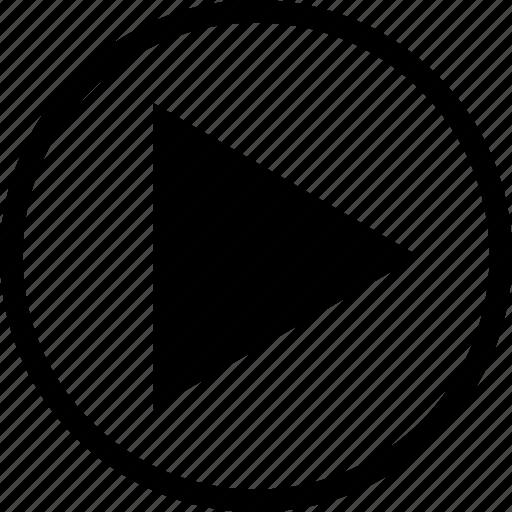 audio, media, play, player, video icon