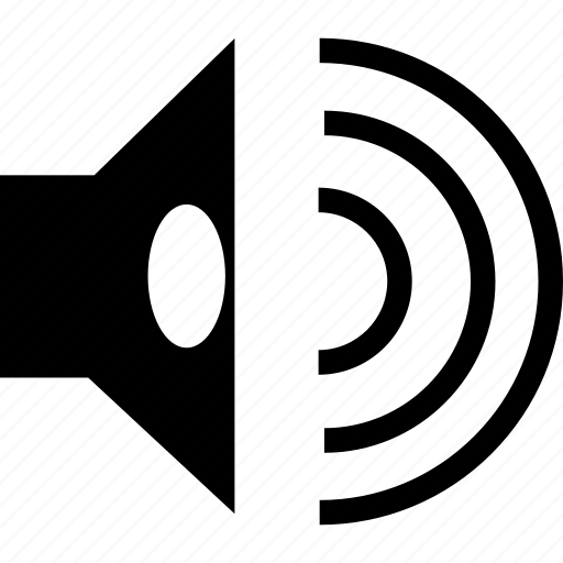 audio, media, multimedia, sound, volume icon