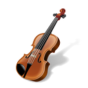 fiddle, instrument, music, violin icon