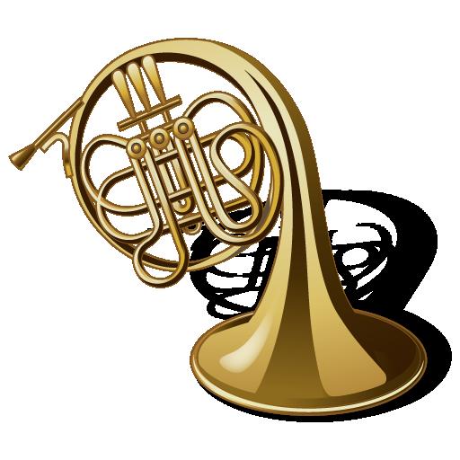 horn, instrument, music, trumpet, tuba icon