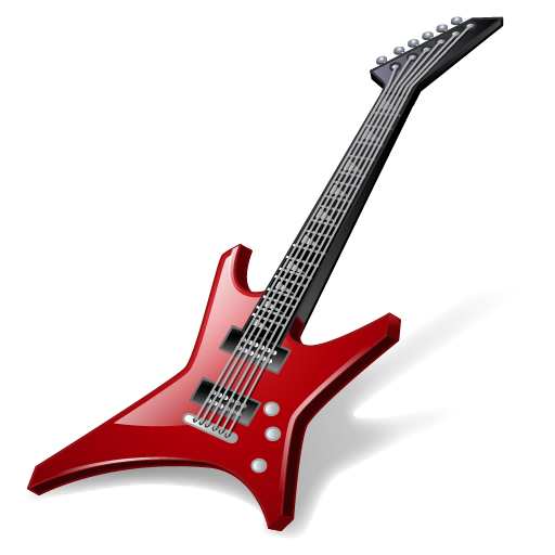 guiter, hard, instrument, loud noise, music, rockguitar icon