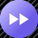 arrow, media player, music, navigation