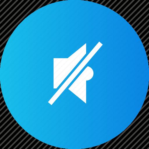 media player, music, mute, navigation icon