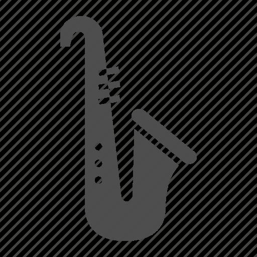 instrument, jazz, music, play, saxophone, sound, trumpet icon
