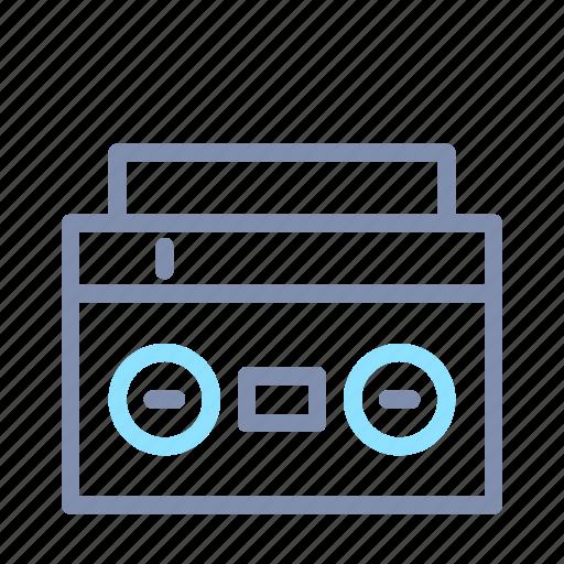 audio, boom, box, music, player, sound, speaker icon