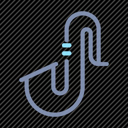 audio, equipment, instrument, music, saxophone, vibration, wind icon