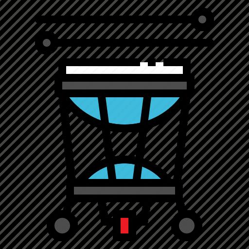 Drum, instrument, jazz, music, timpani icon - Download on Iconfinder