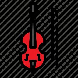 classic, instrument, jazz, music, violin icon