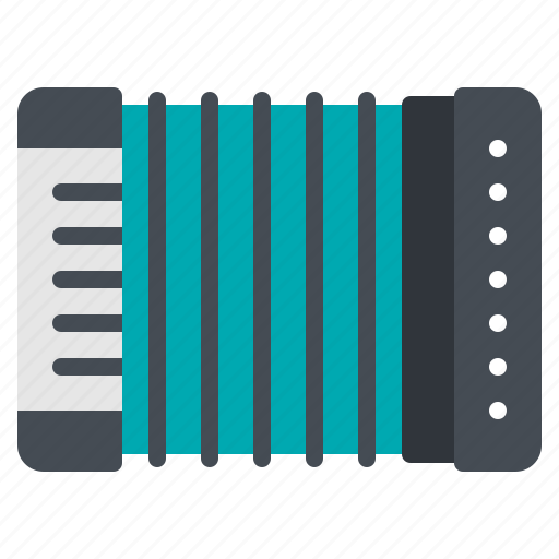 accordion, classic, instrument, music, song icon