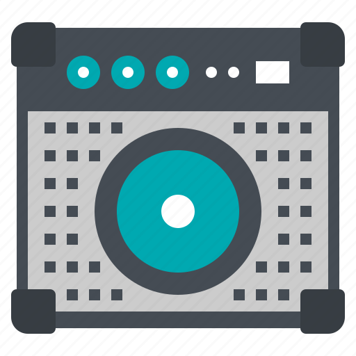 Amplifyer, instrument, loudspeaker, mixer, music icon - Download on Iconfinder