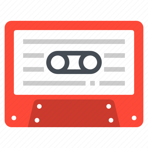 Audio, cassette, music, song, tape icon - Download on Iconfinder