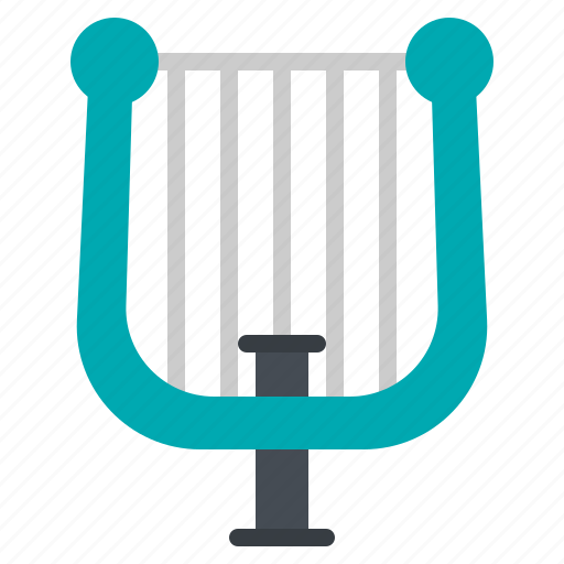 harp, instrument, jazz, music, string icon