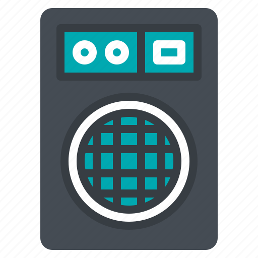 amplifyer, audio, loudspeaker, music, subwoofer icon