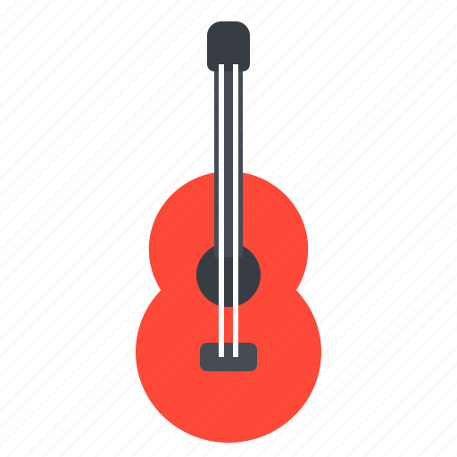 Acoustic, guitar, instrument, music, string icon - Download on Iconfinder