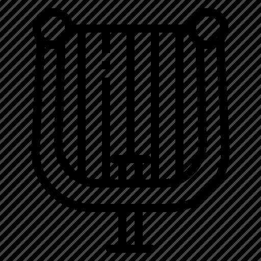 Harp, instrument, jazz, music, string icon - Download on Iconfinder